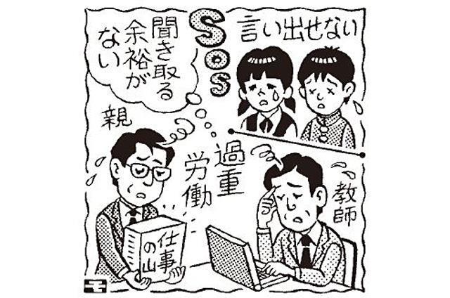 ニュースワード「SOSの出し方教育」
